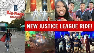 July 11th 2017Six Flags in Southern California just debuted a new Justice League ride and my friends and I were lucky enough to go on it for the world premier launch! It's a super cool interactive 4-D shooting ride where you help save members of the Justice League! We also got to explore the park so you know we rode some awesome extreme rollercoasters and of course, we ate lots of delicious six flags food and they had only the best for this VIP launch party! It was so amazing and for someone like myself who loves roller coasters, it was an incredible day and I hope you all enjoyed getting to experience this day with me!♥ JR's Vlog Channel - https://www.youtube.com/channel/UC287fBATfP2K6avfgPz3KngThank you all so much for watching and I hope you subscribe to be a part of the #infinityfam and I'll talk to you all in the next vlog!XOXOCindy♥ Watch my previous vlog - https://www.youtube.com/watch?v=oOcwaTyYHtE♥ Subscribe to my main channel - https://www.youtube.com/user/infinitelycindyFOLLOW ME ON SOCIAL MEDIA♥ Instagram - http://instagram.com/infinitely_cindy♥ Infinity Family Instagram - http://instagram.com/cindysinfinities♥ Twitter - https://twitter.com/infinitelycindy♥ Snapchat - infinitelycindy♥ Fyuse App - infinitelycindy ♥ Soundcloud - https://soundcloud.com/infinitelycindy♥ Infinity Family Instagram - https://www.instagram.com/cindysinfinities/♥ PO BOX (Valid from August 2016-September 2017)Cindy Thai2355 Westwood Blvd #879Los Angeles, CA 90064♥ For business inquiries -- infinitelycindy(@)gmail.com♥ For business inquiries for my vlog channel -- infinitelyvloggin(@)gmail.com
