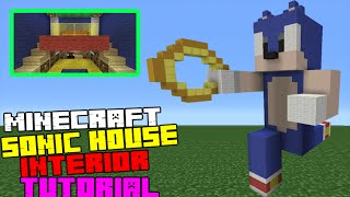 Minecraft Tutorial: How To Make A Sonic Themed Interior/Exterior