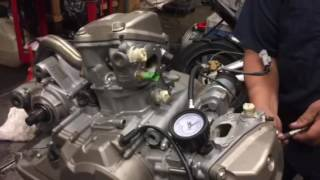 7. Aprilia 2009 Mana 850 Engine PSI test