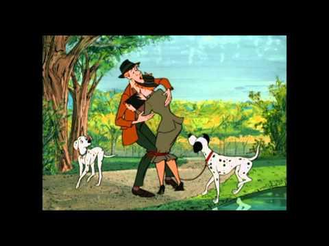 Les 101 Dalmatiens - La rencontre de Pongo et Perdita