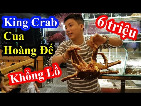 Hai lúa cháy túi vì ăn Cua Hoàng Đế khổng lồ và bị choáng khi biết nhà hàng mua 1 tặng 1 King Crab - Thời lượng: 38:18.
