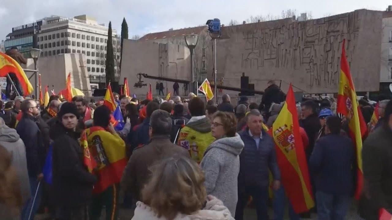 Αντικυβερνητική διαδήλωση για την Καταλονία