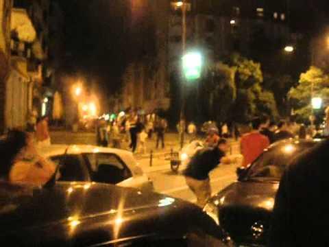 Нови Сад - протест против хапшења Ратка Младића
