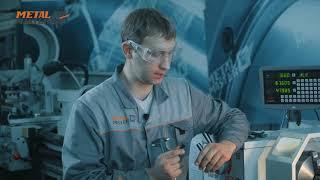 Универсальный токарно-винторезный станок Metal Master X40100. Работа на станке.