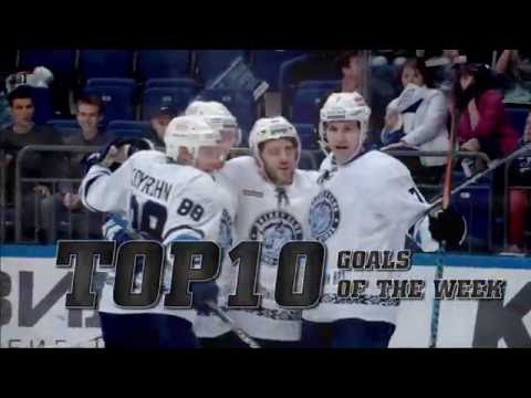 KHL Top 10 Goals for Week 5 (видео)