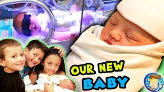 Video Baby's First Days!! Stuck at the Hospital w No Name Picked Out! FUNnel Vision Baby Boy Vlog MP3, 3GP, MP4, WEBM, AVI, FLV Maret 2019