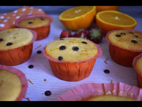 Easy Orange Chocolate Chip Muffins Recipe