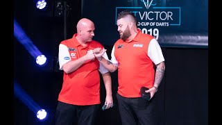 """Simon Whitlock and Damon Heta: """"We believe we can beat anybody and we're very well matched"""""""