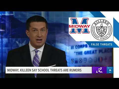 Midway, Killeen say school threats are rumors