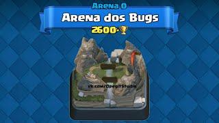 Confira no Vídeo As 6 Arenas Mais Bugadas do Clash Royale ! Ou seja, Os Maiores Bugs em Arenas do Clash ! :oComente Suas Opiniões e Deixe seu Like ! :)Meta 10 Mil Likes ! :D_________________________________________•INTRO - Pkllipe Productions :https://m.youtube.com/user/pkllipe__________________________________________• Me Mande Suas Mensagens e Me Siga :- Instagram do Canal: https://www.instagram.com/fatos_clashers/ou - No meu Facebook:https://www.facebook.com/profile.php?id=100000417898839