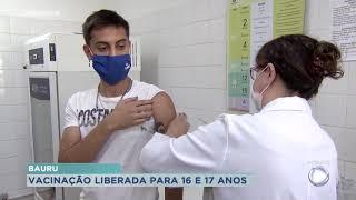 São Miguel Arcanjo imuniza jovens com 17 anos
