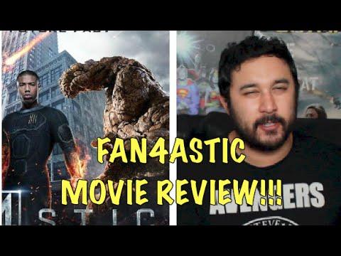 FANTASTIC FOUR (2015) MOVIE REVIEW!!!