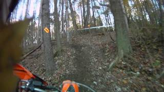 7. 2012 KTM 250XCF demo ride