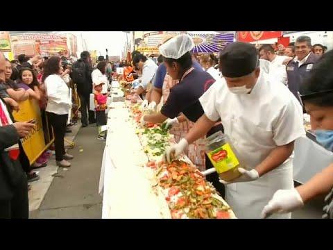 Μεξικό: Τορτίγια μήκους 67 μέτρων σπάει το ρεκόρ!