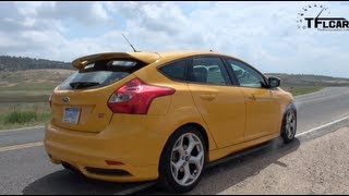 2013 Ford Focus ST 0-60 MPH Drive&Review
