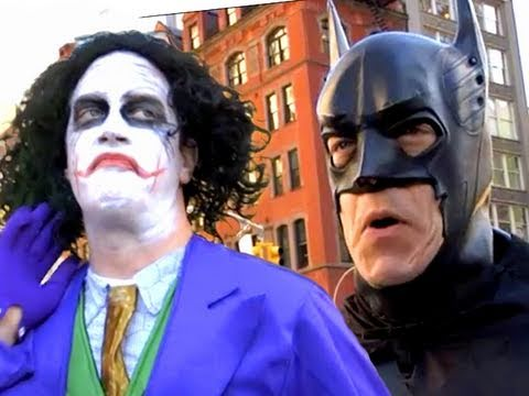 Batman vs Joker in New York%21