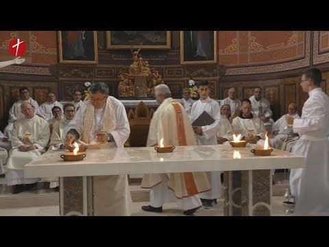 Posveta oltara sjemenišne crkve Sv. Alojzija Gonzage u Travniku