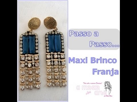Maxi Brinco com Franja