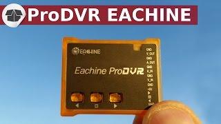 """ProDVR Eachine enregistreur drone vidéo FPV pour Drone. Clique ici pour t'abonner ► https://goo.gl/PkIcj8 (merci)Voici une solution pour répondre à la question :  Comment enregistrer la vidéo de son drone ?____________ Voici les liens des produits : __________-- ENREGISTREUR  ProDVR Eachine✔ DVR PRO : http://bit.ly/eachine_ProDvr_Banggood-- LES DRONES : ✔ Drone QX 80 Eachine : http://bit.ly/QX80-Eachine_Banggood✔ Falcon 180 Eachine RTF """"Ready To Fly"""" : http://bit.ly/falcon_180_RTF_banggood✔ Falcon 180 Eachine Frame Kit  """"Ready To Fly"""" : http://bit.ly/falcon_180_Frame_Banggood__________Infos ____________Les petit drones comme la série des Eachine QX avec le QX90, QX95 ou QX100 ne permet pas de transporter un camera de type GoPro.La série des EX avec les EX100, EX105, EX110, EX120 ne peuvent pas non plus transporter un enregistreur.La solution c'est le petit enregistreur de chez Eachine le ProDVR : Il permet :d'être sur le drone ou d'être connecté sur un récepteur.Avec les solutions câblage que vous avez dans la vidéo, il sera facile de passer du mode relecture au mode live avec un switch.____________ Description __________Référence : ProDVRMarque : EachineNom d'article : Enregistreur ProDVR Vidéo Audio Tension de fonctionnement : DC 5V Format vidéo : NTSC / PAL Sortie vidéo Taille d'enregistrement : VGA (640 * 480px), D1 (720 * 480), HD (1280 * 480) Fréquence : 50Hz / 60Hz Format de Compression : MJPEG Fréquence d'image : 30 images/secondesType de carte : Micro SDTaille Max MicroSD  : 32GoTaille : 41mm * 32.9mm * 10mm Poids : seulement 9.8g La carte seul : seulement 4.7gConsommation en veille : 180mAhConsommation en enregistrement  : 190mAh____________ Le paquet contient: __________1 X ProDVR enregistreur Eachine1 X Câble d'Alimentation, câble Camera 1 X Câble vidéo RCA audio et vidéo1 X Fils pour ajouter des boutons externe1 X Câble d'alimentation et audio vidéo à souder1 X Câble vidéo DIY 2 X 3M adhésif1 X Manuel"""