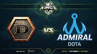 Detonator против Admiral Dota, Первая карта, Групповой этап, SEA Region, King's Cup 2