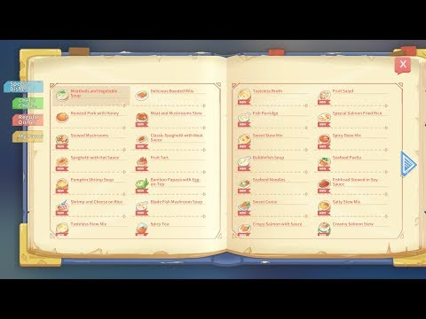COOKING TIME With New RECIPES - My Time At Portia