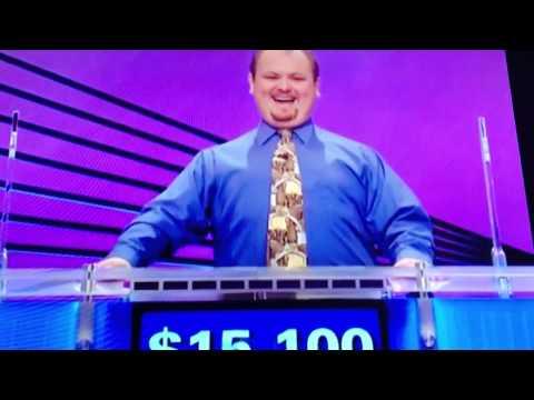 Jeopardy winner Video