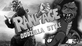 Was playing the original Rampage on Mame and played around with some old Gojira '54 sound effects and music. Turned out kind of amusing. Hope Godzilla fans enjoy.