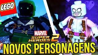 """LEGO Marvel Super Heroes 2 Gameplay PT BR Português. No vídeo de hoje a gente traz mais informações sobre LEGO Marvel Super Heroes 2, game que lança dia 14 de novembro de 2017 e que vamos jogar aqui no canal até depenar ele de todas as maneiras! Hoje falamos sobre 10 novos personagens anunciados: Howard o Pato, Howard de Ferro (IronDuck - Pato de Ferro), Throg, Abutre de Homem-Aranha de Volta ao Lar, Doutor Octopus, Forbush Man (Homem Fuleiro), Greenskyn Smashtroll, Gwenpool. Os outros 2 personagens serão revelados no trailer novo, que foi exibido no painel, mas que ainda não foi liberado para o público. Segundo os desenvolvedores, o novo trailer sai na segunda-feira!Créditos das imagens: http://www.thebrickfan.com/Os personagens estão cada vez mais bonitos e interessantes, e a TT Games tem mesclado personagens populares e conhecidos com personagens desconhecidos! Serão mais de 200 personagens jogáveis, Stan Lee estará no jogo, temos 96 mecânicas e habilidades diferentes, as missões bônus serão cheias de easter eggs e referências aos quadrinhos, e o jogo terá o maior mundo aberto que a TT Games já trabalhou! Estas e outras novidades neste vídeo! Mais LEGO MARVEL SUPER HEROES 2 ► http://bit.ly/LEGOMarvelSuperHeroes2HagazoTwitter ► http://bit.ly/1qr6HERInstagram ► http://bit.ly/1mr1YrrFacebook ► http://bit.ly/29sdpzISEGUNDO CANAL ► http://bit.ly/CriadoresdeConteudoContato: hsogameplays@gmail.com=====================Baixe o app do canal e veja tudo em um só lugar - https://goo.gl/cKuOxq NOVA ERA GAMES ► http://www.novaeragames.com.br (Utilize o Cupom desconto """"Hagazo"""" (sem as aspas) para 5% de desconto em toda a loja==================Music by Epidemic Sound (http://www.epidemicsound.com)----------------"""