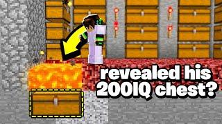 Video this Minecraft player revealed his 200IQ secret chest LOCATION! MP3, 3GP, MP4, WEBM, AVI, FLV Juni 2019
