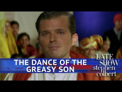 Donald Trump Jr.s Bollywood Debut The Dance Of The Greasy Son
