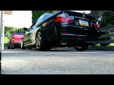 BMW 328ci e46 eBay muffler and headers