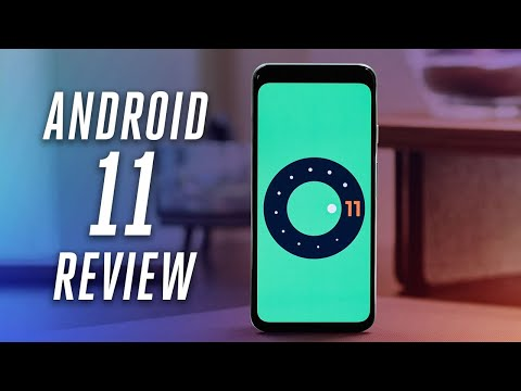Android 11 review the most important settings