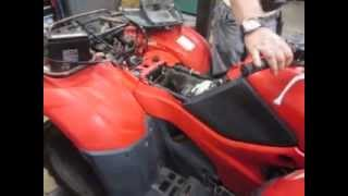 8. 2007 Honda TRX 420 Rancher 4x4