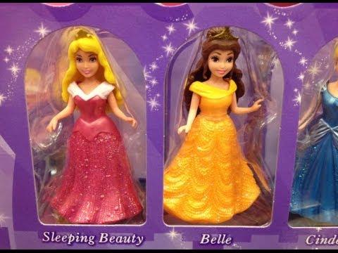 Disney Princess Little Kingdom Magiclip 7- Doll Giftset