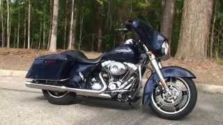 9. Used 2012 Harley Davidson  Street Glide Motorcycles for sale