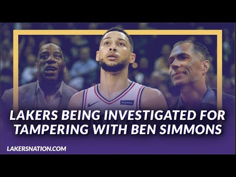 Video: Lakers News: Lakers Are Being Investigated for Tampering with Ben Simmons of the 76ers