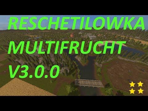 Reshetilovka multifruit v3.0.0