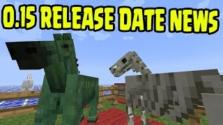 Minecraft Pocket Edition 0.15 Update BETA - RELEASE DATE NEWS! (MCPE 0.15 BETA Update Release)