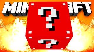 Minecraft Mods - EVIL LUCKY BLOCK RACE! w/Preston, BajanCanadian, Vikkstar, Woofless&Lachlan!