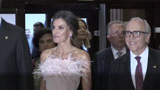 SS.MM. los Reyes llegan al XXVIII Concierto Premios Princesa de Asturias
