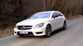 Trying The Mercedes CLS63 AMG Shooting Brake - Fifth Gear by Fifth Gear