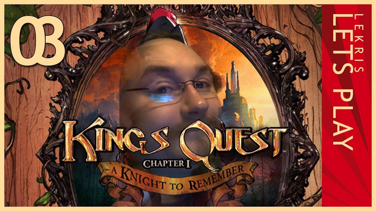 Let's Play King's Quest - Kapitel 1 - Der seinen Ritter stand #03 - Reden mit gerüsteten Rittern