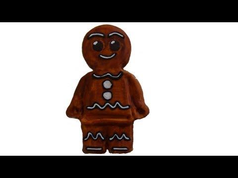 Gingerbread man nursery stories cake