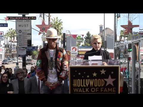 Pharrell Williams Walk of Fame Ceremony