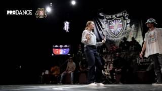 Sacha vs Jutsu – UK BBOY CHAMPIONSHIPS 2017 POPPING SEMI FINAL