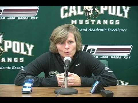 Cal Poly Women's Basketball Coach Faith Mimnaugh