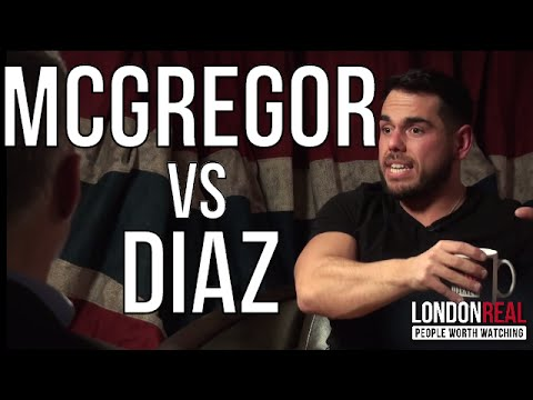 CONOR McGREGOR vs NATE DIAZ - Ross Edgley on London Real (видео)