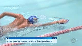 Jovem nadador de Jaú é convocado pela Seleção Brasileira sub-18