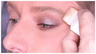 HOW TO BLEND EYESHADOW WITH A SPONGE! by Wayne Goss