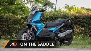 2. 2018 BMW C400X - On the Saddle